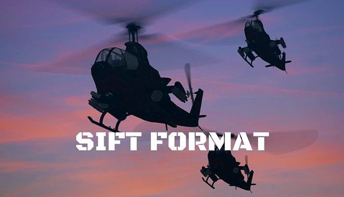 sift test format, selection insturment for flight training format, sift format